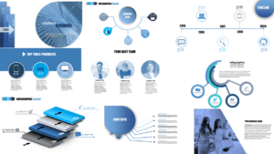 Creative business presentation templates